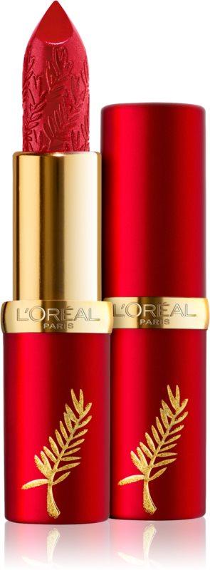 9fa821818 L Oréal Paris Limited Edition Cannes 2019 Color Riche hydratační rtěnka