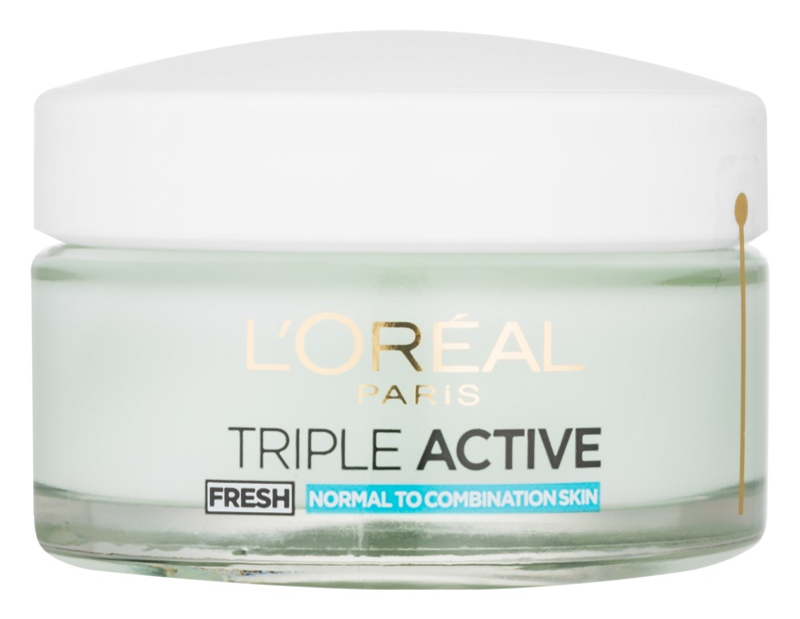 L'Oréal Paris Triple Activ Fresh gélový krém pre normálnu až zmiešanú pleť