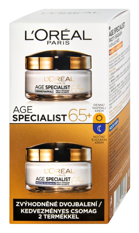 L'Oréal Paris Age Specialist 65+ kozmetični set I.