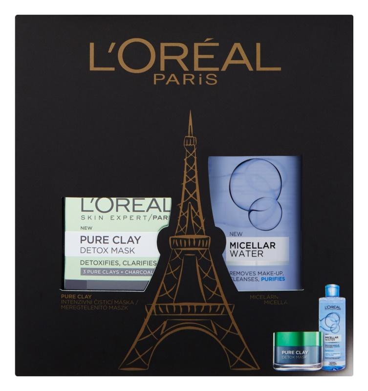 L'Oréal Paris Pure Clay kozmetični set I.