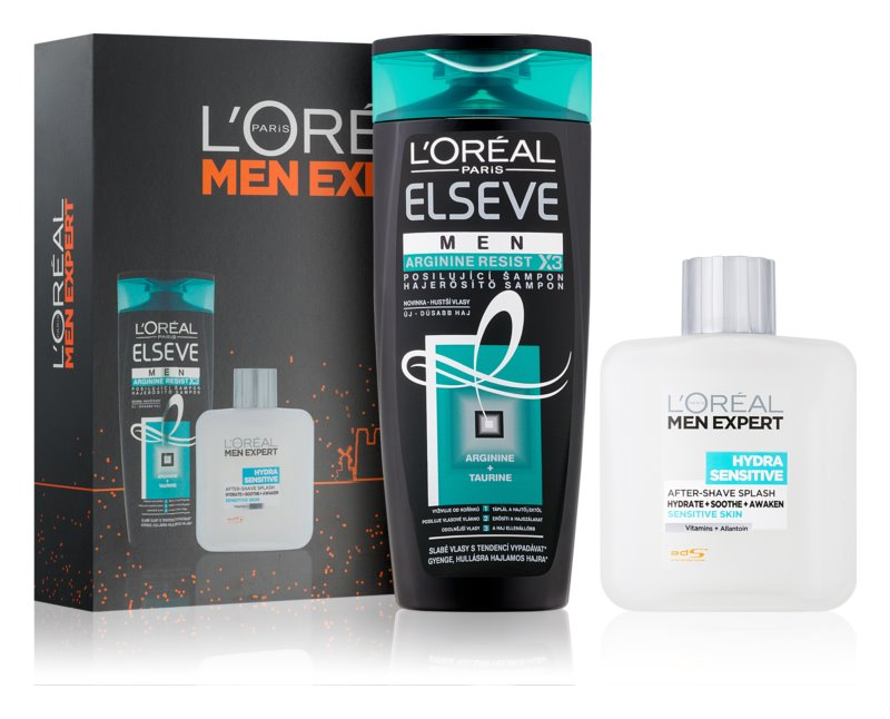 L'Oréal Paris Men Expert Hydra Sensitive lote cosmético I.