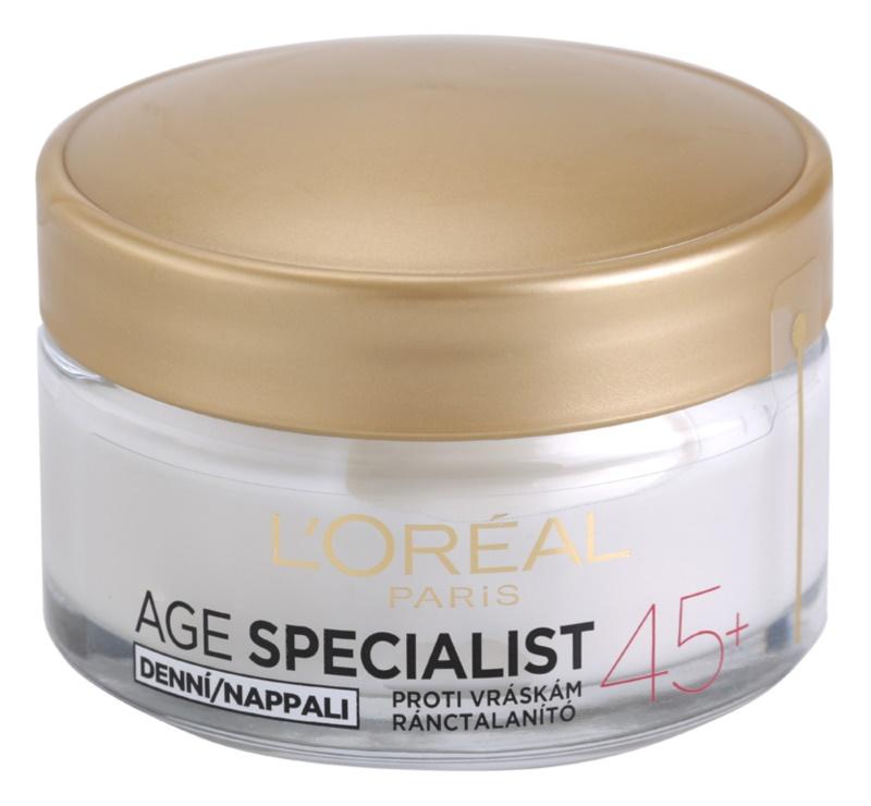 L'Oréal Paris Age Specialist 45+ denný krém proti vráskam