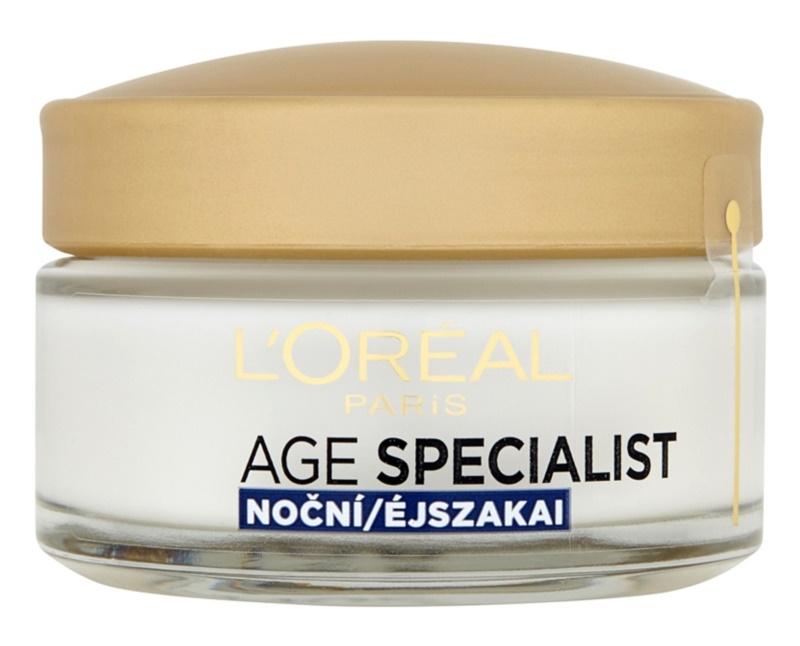 L'Oréal Paris Age Specialist 65+ hranilna nočna krema proti gubam