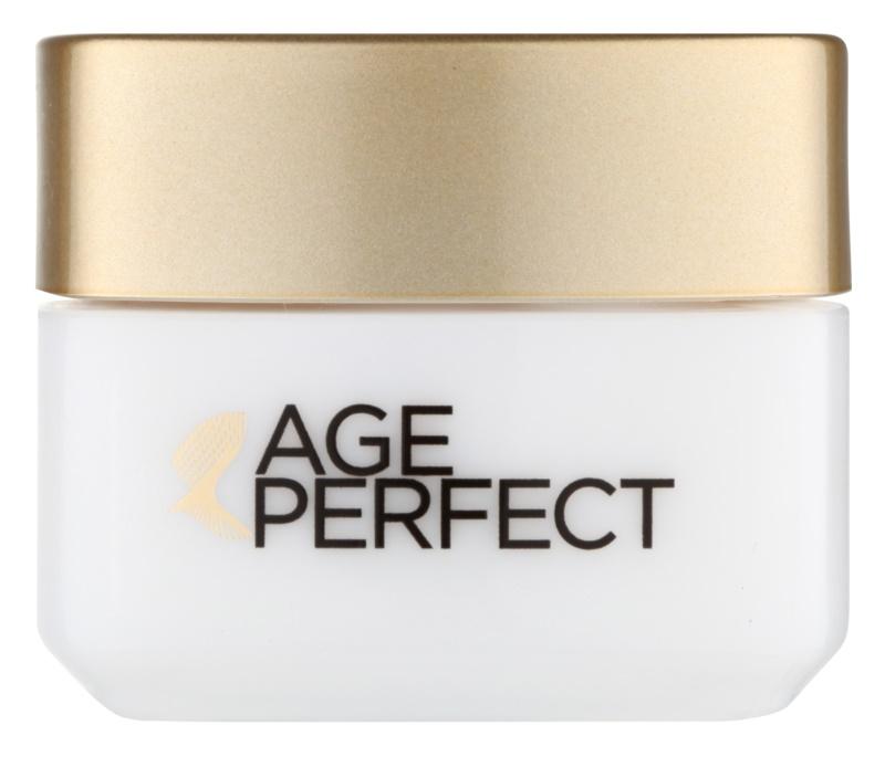 L'Oréal Paris Age Perfect crema hidratante y nutritiva para contorno de ojos para pieles maduras
