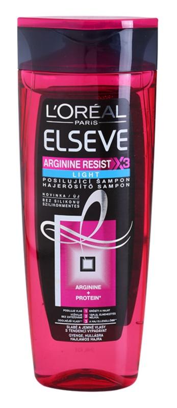 L'Oréal Paris Elseve Arginine Resist X3 Light champô reforçador