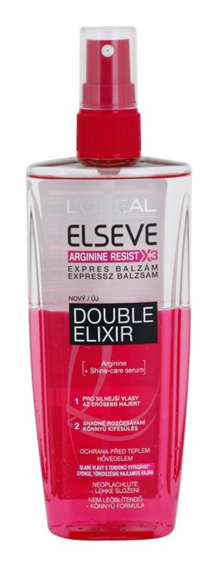 L'Oréal Paris Elseve Arginine Resist X3 spray rinforzante per capelli affaticati dal calore