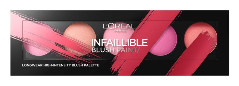 L'Oréal Paris Infaillible Blush Paint paleta líceniek