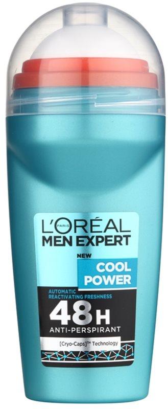 L'Oréal Paris Men Expert Cool Power antyperspirant roll-on