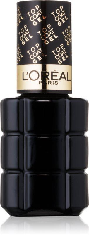 L'Oréal Paris Color Riche gelový vrchní lak na nehty
