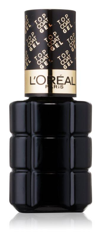 L'Oréal Paris Color Riche lac gel de unghii pentru acoperirea superioară