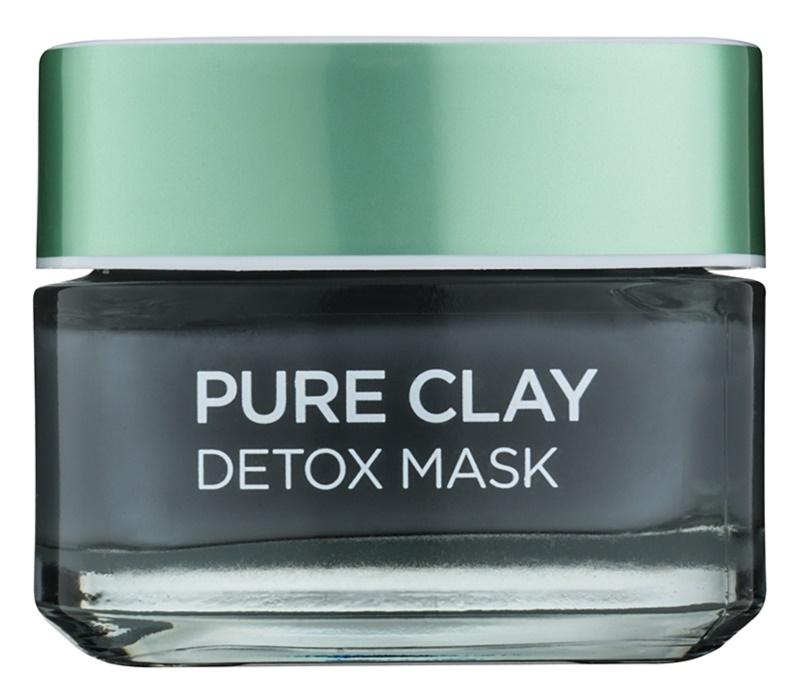 L'Oréal Paris Pure Clay mascarilla desintoxicante
