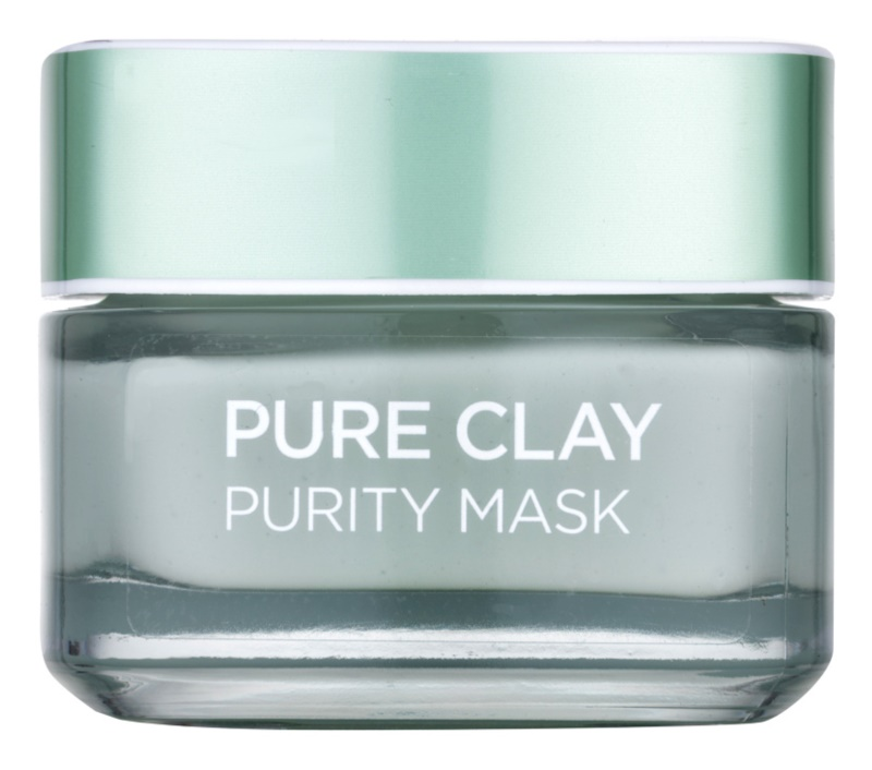 L'Oréal Paris Pure Clay čistilna matirajoča maska