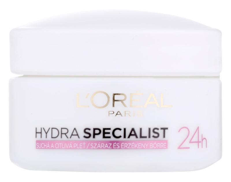 L'Oréal Paris Hydra Specialist denní hydratační krém pro citlivou a suchou pleť