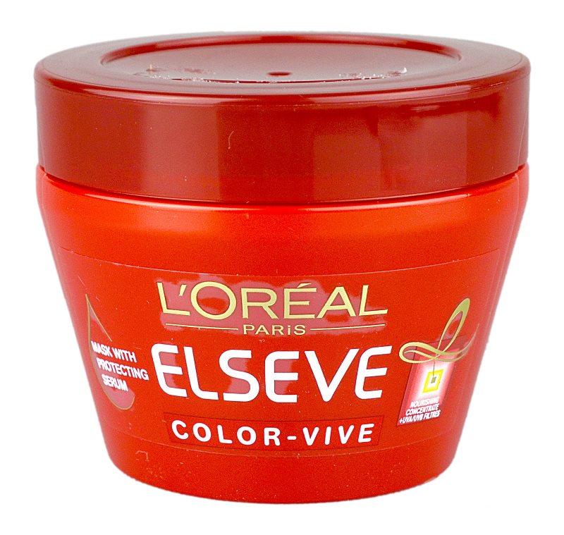 L'Oréal Paris Elseve Color-Vive маска  за боядисана коса