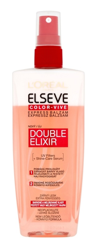 L'Oréal Paris Elseve Color-Vive balsamo express per capelli tinti e con mèches