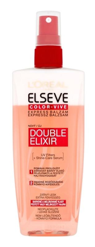 L'Oréal Paris Elseve Color-Vive експрес балсам  за боядисана коса и коса с кичури
