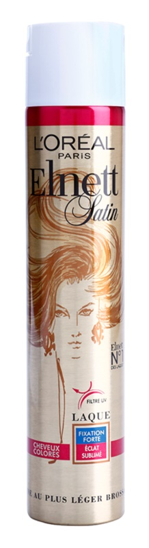 L'Oréal Paris Elnett Satin laca com filtro UV para cabelos pintados