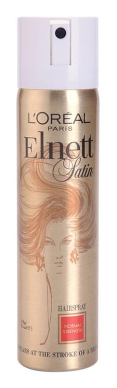 L'Oréal Paris Elnett Satin lakier do włosów do nabłyszczenia