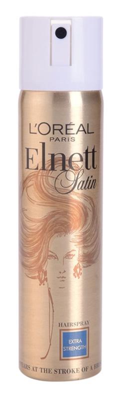 L'Oréal Paris Elnett Satin lak za lase za sijaj in mehkobo las