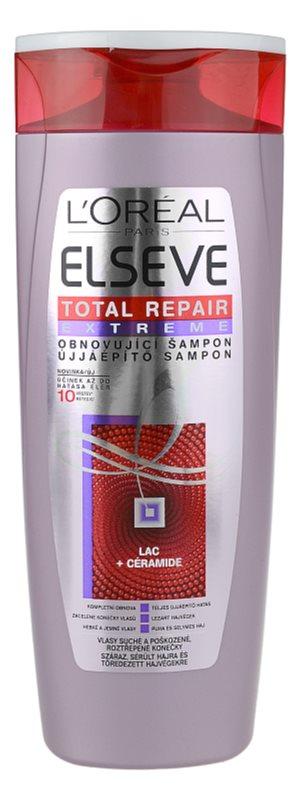 L'Oréal Paris Elseve Total Repair Extreme szampon odbudowujący włosy do włosów suchych i zniszczonych