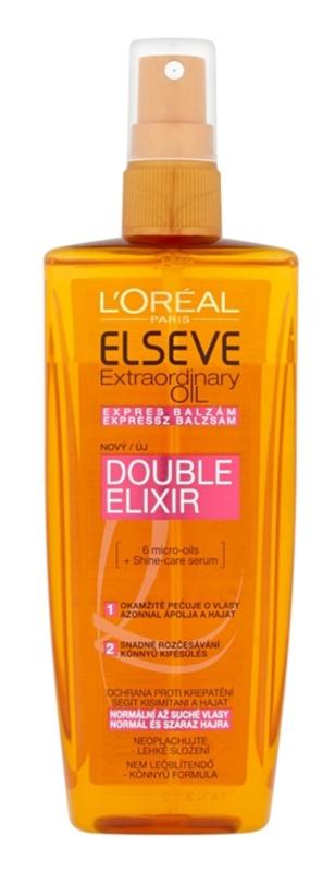 L'Oréal Paris Elseve Extraordinary Oil ekspresni balzam za normalne do suhe lase