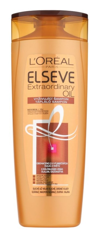 L'Oréal Paris Elseve Extraordinary Oil szampon do bardzo suchych włosów
