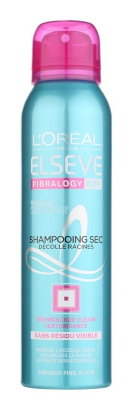 L'Oréal Paris Elseve Fibralogy Air champú en seco para dar volumen