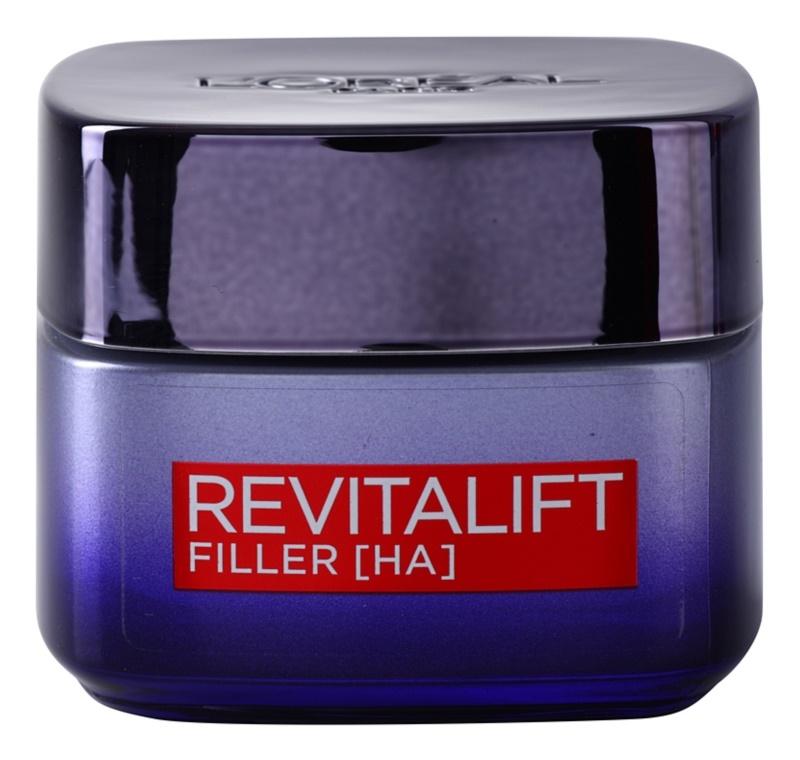 L'Oréal Paris Revitalift Filler vyplňující noční krém proti stárnutí