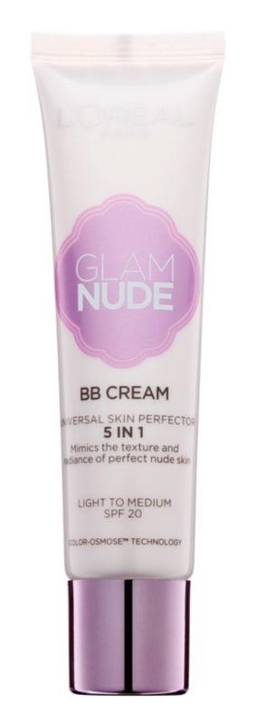 L'Oréal Paris Glam Nude BB krém 5 in 1 SPF 20