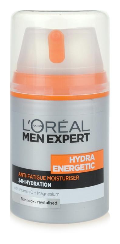 L'Oréal Paris Men Expert Hydra Energetic Feuchtigkeitscreme gegen die Anzeichen von Müdigkeit