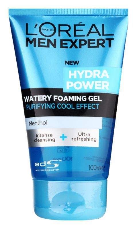 L'Oréal Paris Men Expert Hydra Power čisticí gel s chladivým účinkem