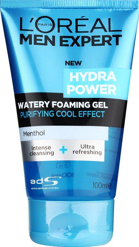L'Oréal Paris Men Expert Hydra Power Reinigungsgel  mit kühlender Wirkung