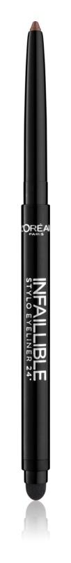 L'Oréal Paris Infaillible crayon yeux pour un maquillage smoky-eyes