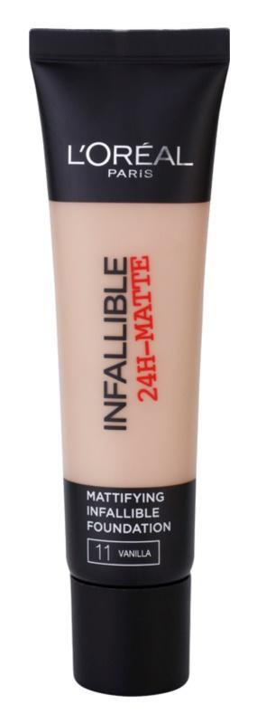 L'Oréal Paris Infallible matirajoči tekoči puder