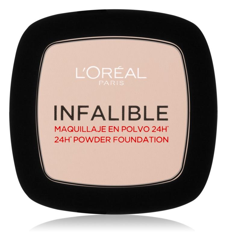 L'Oréal Paris Infallible pudra de fixare