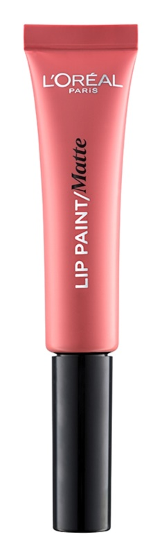 L'Oréal Paris Lip Paint tekutá rtěnka s matným efektem