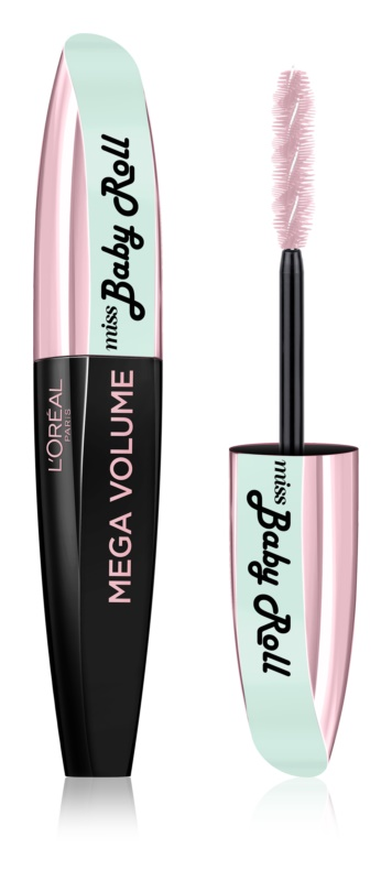 L'Oréal Paris Miss Baby Roll Volumizing and Curling Mascara