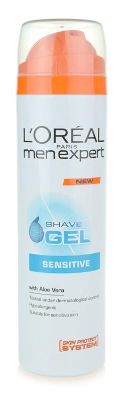 L'Oréal Paris Men Expert Hydra Sensitive gel de ras pentru piele sensibila