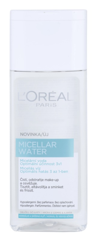 L'Oréal Paris Micellar Water água micelar 3 em 1