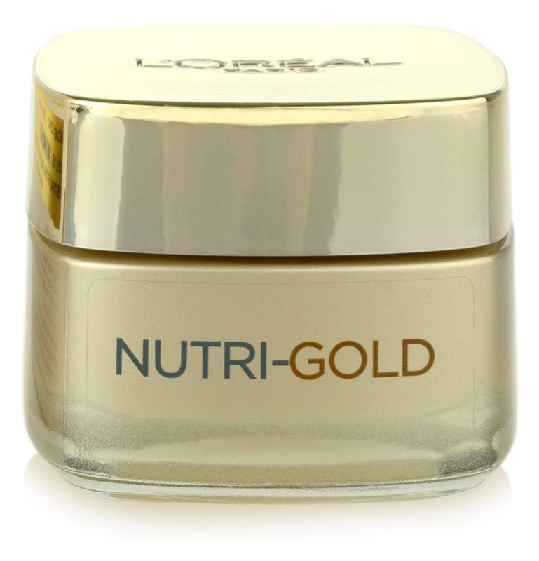 L'Oréal Paris Nutri-Gold denný krém na tvár s intenzívnou výživou