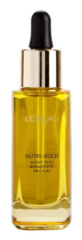 L'Oréal Paris Nutri-Gold pleťový olej z 8 esenciálních olejů