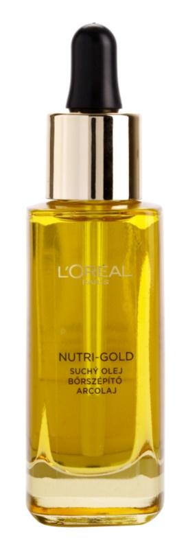 L'Oréal Paris Nutri-Gold pleťový olej z 8 esenciálnych olejov