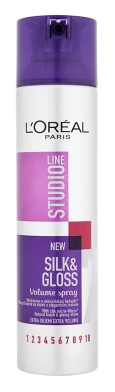 L'Oréal Paris Studio Line Silk&Gloss Volume spray per volume e brillantezza
