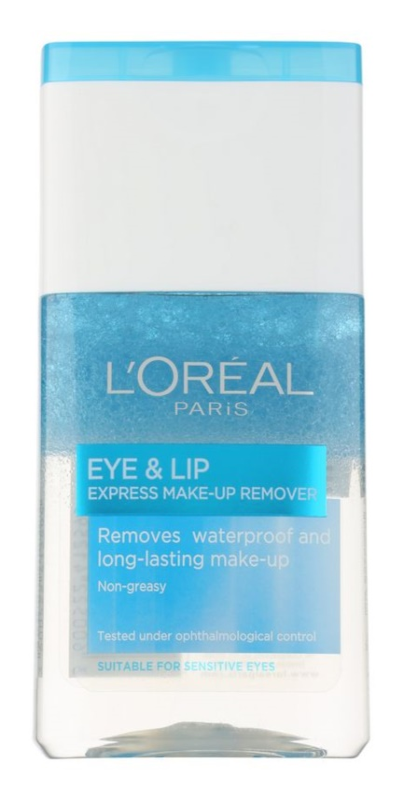 L'Oréal Paris Skin Perfection 2-Phasen Abschminkwasser Für Lippen und Augenumgebung