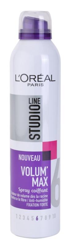 L'Oréal Paris Studio Line Volum´ Max Haarlack für mehr Volumen