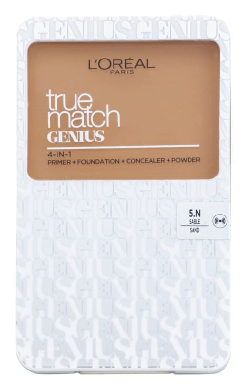 L'Oréal Paris True Match Genius тональна пудра 4 в 1