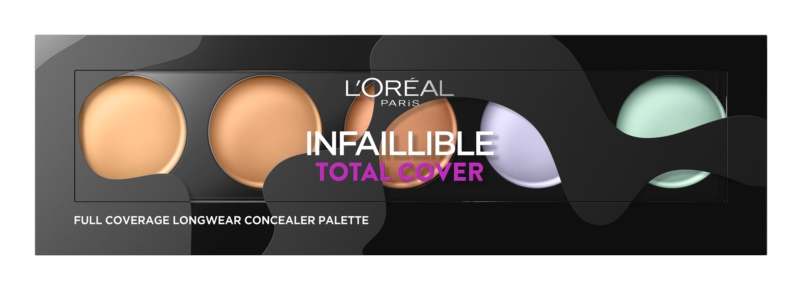 L'Oréal Paris Infaillible Total Cover палетка коректорів