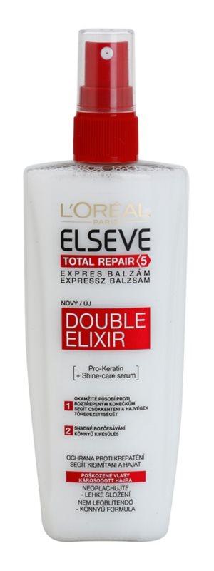 L'Oréal Paris Elseve Total Repair 5 bálsamo regenerador para las puntas abiertas