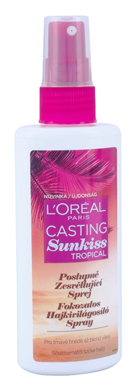 L'Oréal Paris Casting Sunkiss Tropical Lightening Spray for Natural Hair