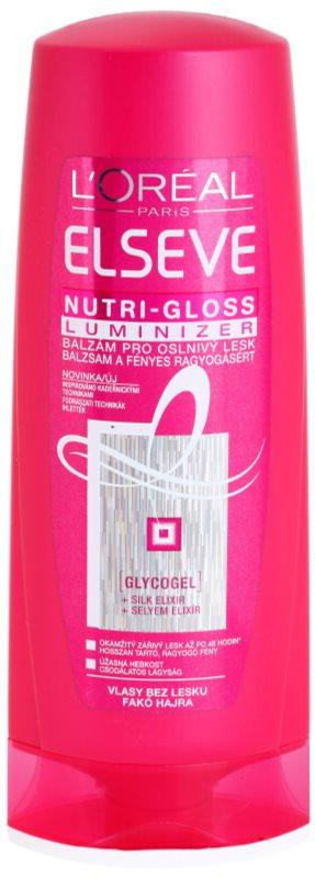 L'Oréal Paris Elseve Nutri-Gloss Luminizer bálsamo para um brilho radiante